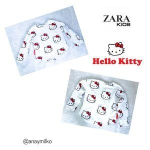 Zara Hello Kitty Long sleeve tee size 6